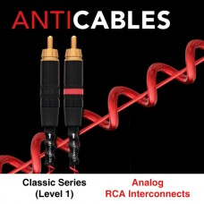 SALE (50% off) NEW Level 1 Classic Series RCA Analog Interconnects